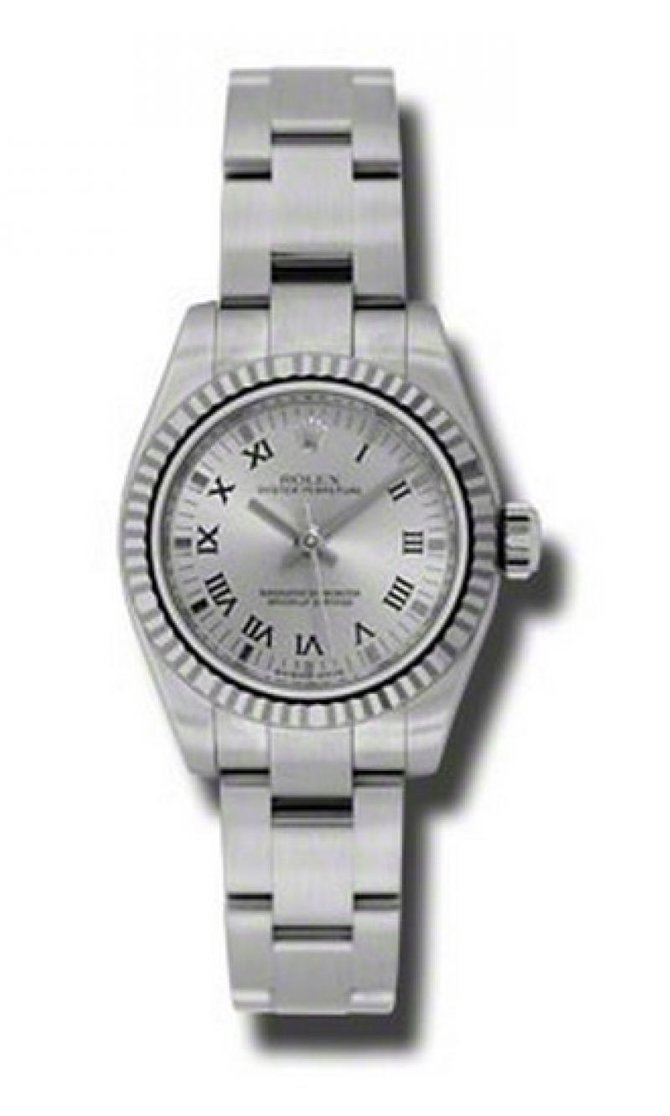 Rolex 176234 rbkro Oyster Perpetual Lady Steel and White Gold - фото 1