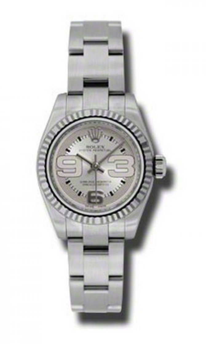 Rolex 176234 smao Oyster Perpetual Lady Steel and White Gold - фото 1