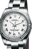 Rolex Oyster Perpetual 177234 White Steel and White Gold