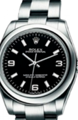 Rolex Oyster Perpetual 177200 Black Lady Steel