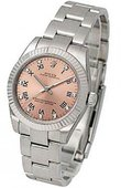 Rolex Oyster Perpetual 177234 Pink D Steel and White Gold