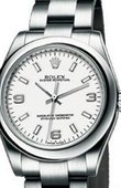Rolex Oyster Perpetual 177200 White Lady Steel