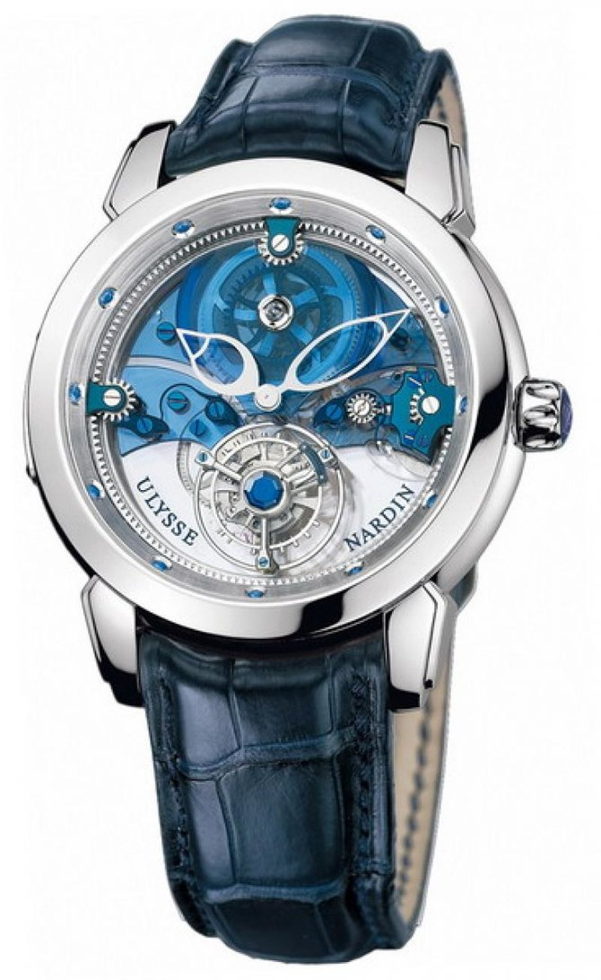Ulysse Nardin 799-81 Specialities Royal Blue Tourbillon 41 мм