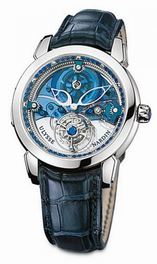 Ulysse Nardin 799-82 Specialities Royal Blue Tourbillon 41 мм