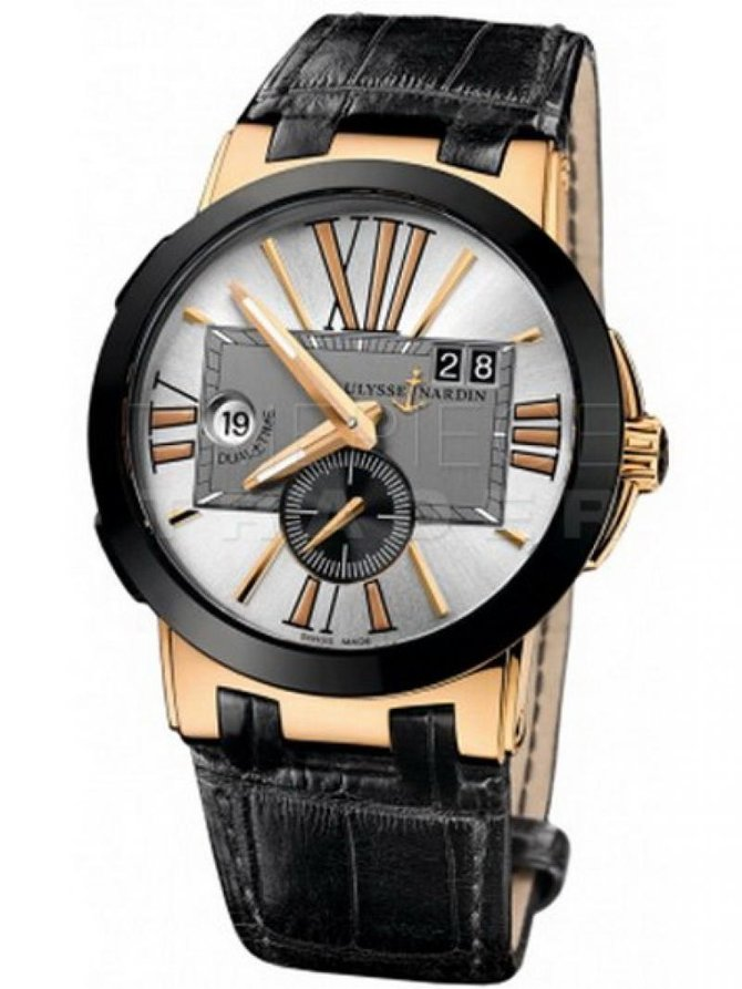 Ulysse Nardin 246-00_5/421 Executive Dual Time UN-24