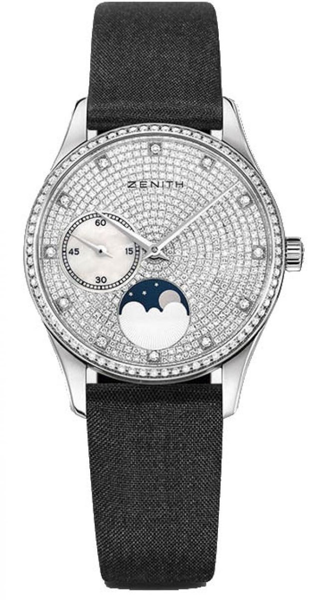 Zenith 45.2310.692/09.C717 Ladies Collection ULTRA THIN LADY MOONPHASE