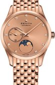 Zenith Ladies Collection 18.2310.692/95.M2310 ULTRA THIN LADY MOONPHASE