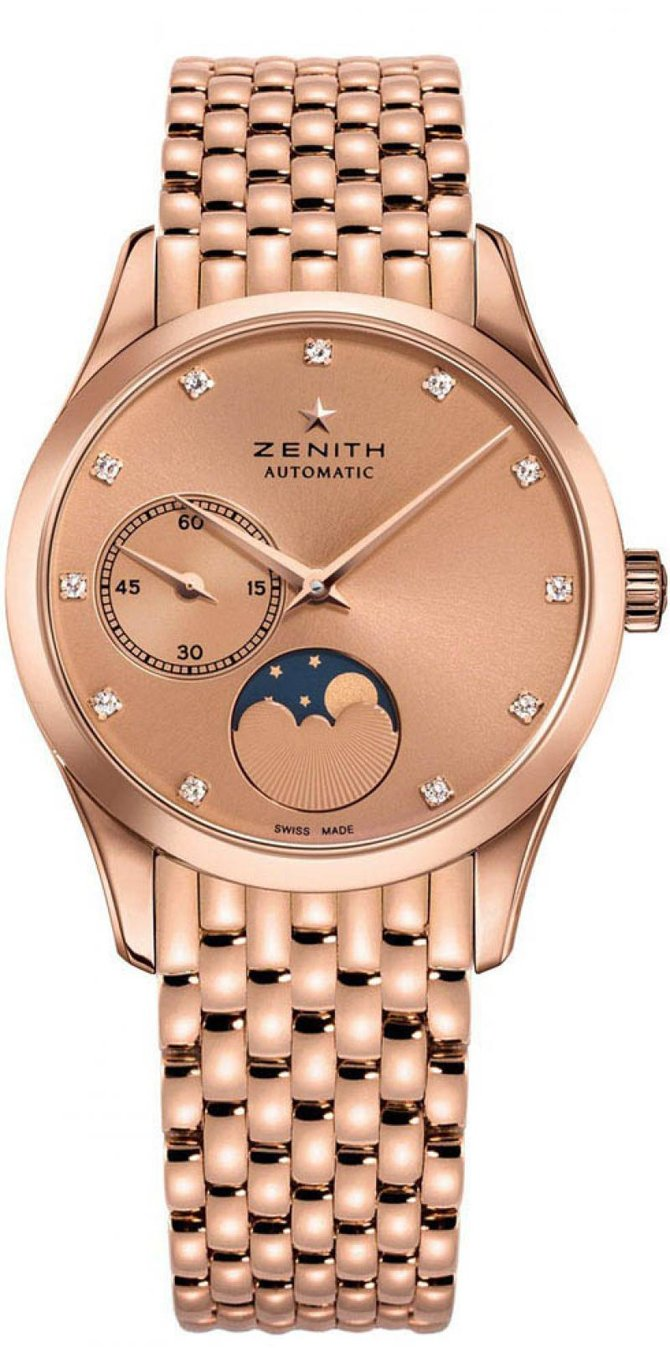 Zenith 18.2310.692/95.M2310 Ladies Collection ULTRA THIN LADY MOONPHASE