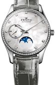 Zenith Ladies Collection 16.2310.692/81.C706 Heritage Ultra Thin Moonphase