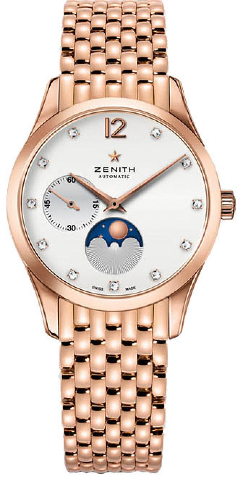 18.2311.692/03.M2310 Zenith ULTRA THIN LADY MOONPHASE BOUTIQUE EDITION Ladies Collection