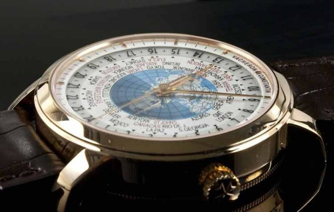 86060/000r-9640 Vacheron Constantin Traditionnelle World Time Traditionnelle