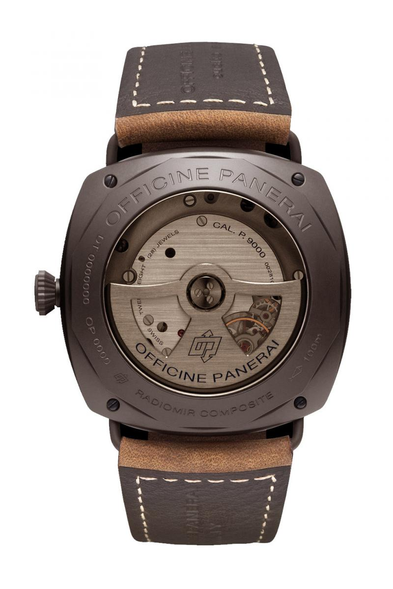 PAM00505 Officine Panerai Composite Black Seal 3-Days Automatic Radiomir