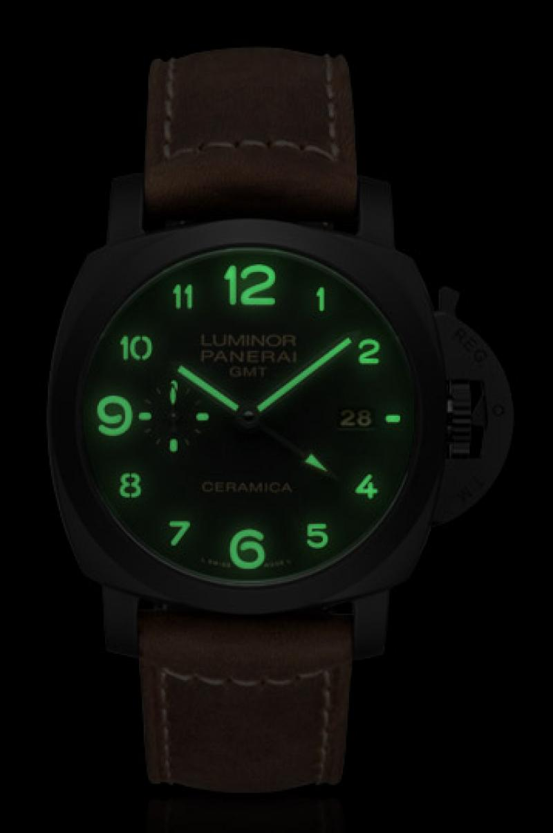 Часы luminor panerai gmt цена