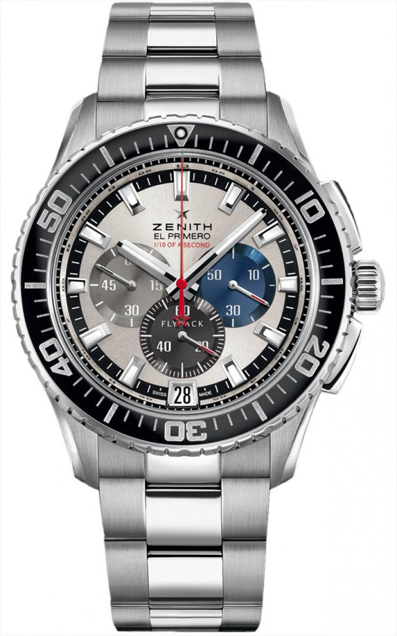 03.2062.4057/69.M2060 Zenith Stratos Flyback Striking 10th Tribute to Felix Baumgartner El Primero