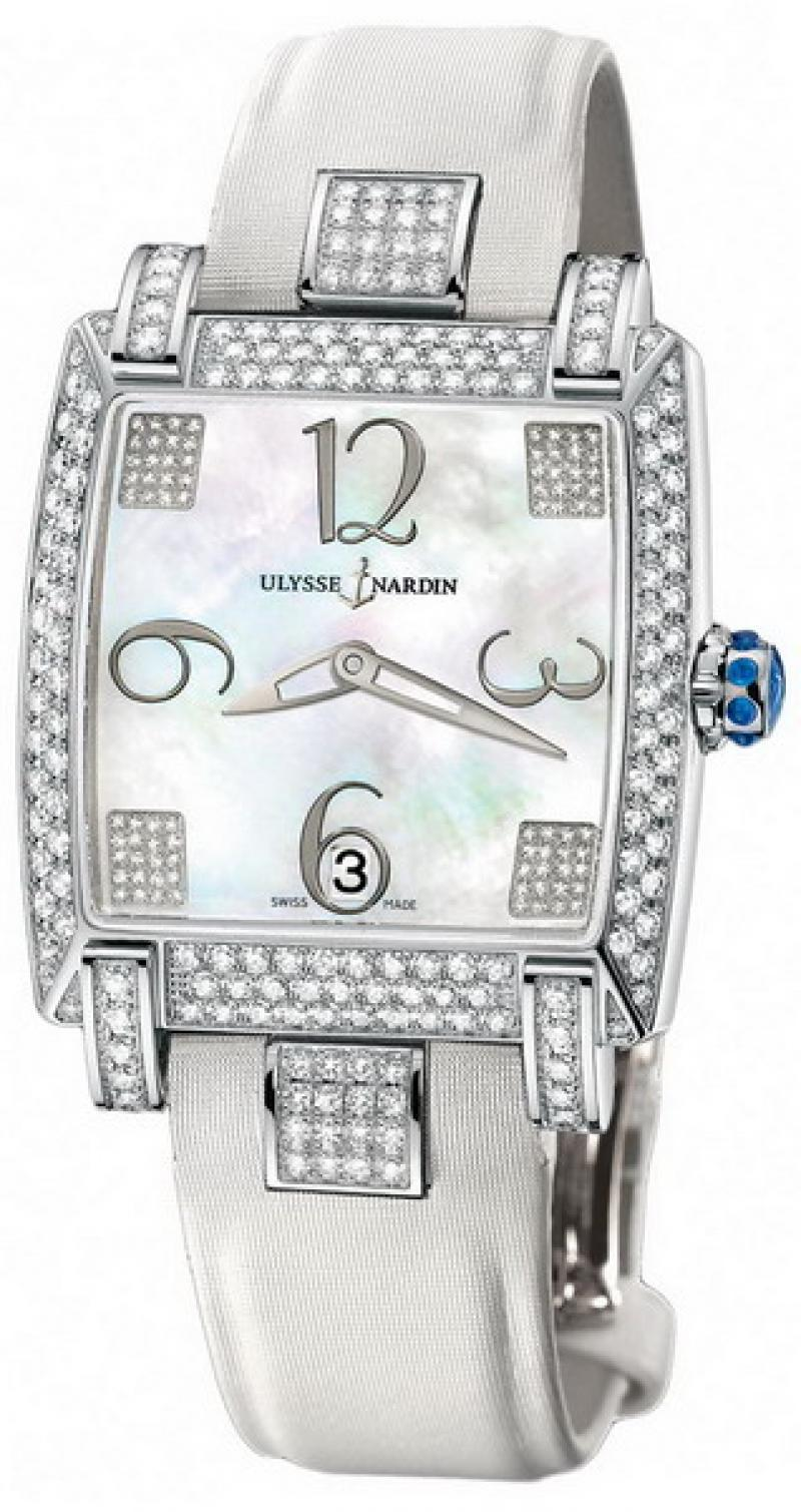 130-91AC/601 Ulysse Nardin Full Diamonds Caprice