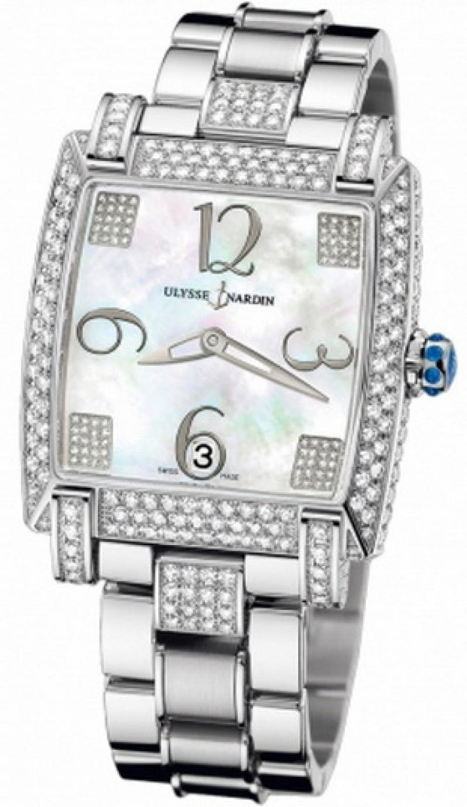 130-91FC-8C/601 Ulysse Nardin Full Diamonds Caprice