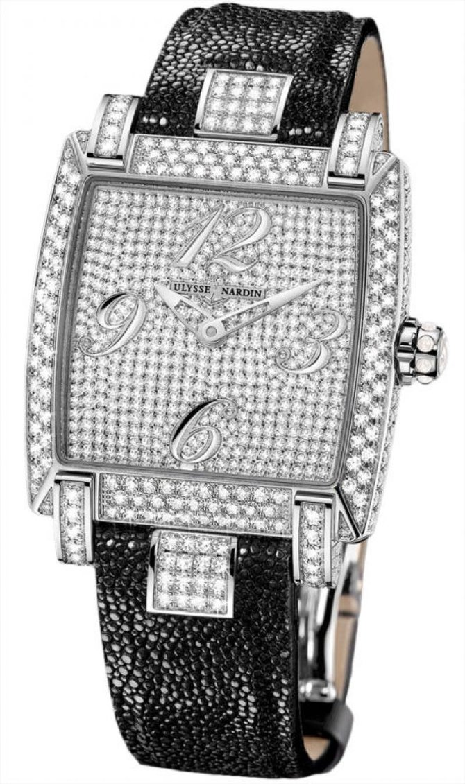 130-91FC/FULL Ulysse Nardin Full Diamonds Caprice