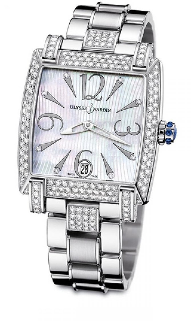 133-91AC-7C/691 Ulysse Nardin Full Diamonds Caprice