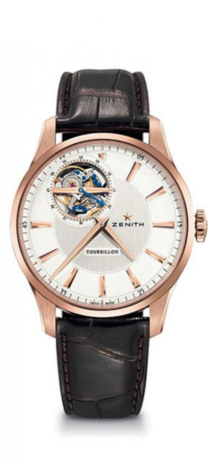 18.2190.4041/01.C498 Zenith TOURBILLON Captain