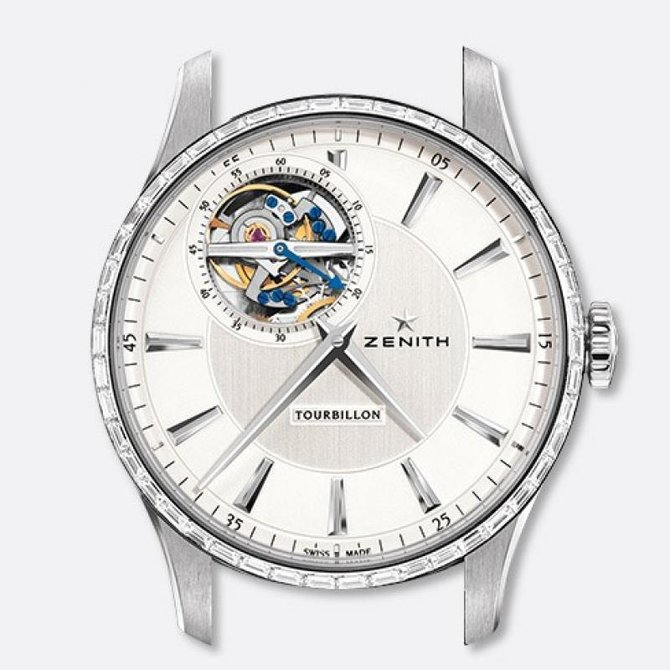 45.2190.4041/01.C493 Zenith TOURBILLON Captain