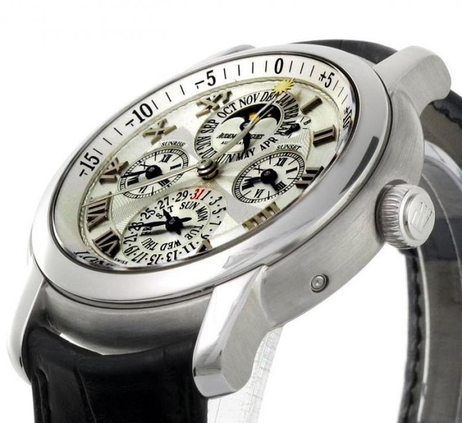 Audemars Piguet 26003BC.OO.D002CR.01 Jules Audemars Equation of Time - фото 6