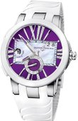 Ulysse Nardin Executive Dual Time Lady 243-10-3/30-07 Steel