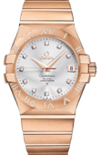 Omega Constellation 123.55.35.20.52-003 Co-axial