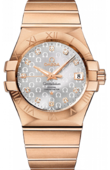 Omega Constellation 123.50.35.20.52-003 Co-axial