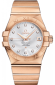 Omega Constellation 123.50.35.20.52-001 Co-axial