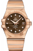 Omega Constellation 123.50.35.20.63-001 Co-axial