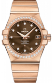 Omega Constellation Ladies 123.55.35.20.63-001 Co-axial
