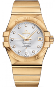 Omega Constellation 123.50.35.20.52-002 Co-axial