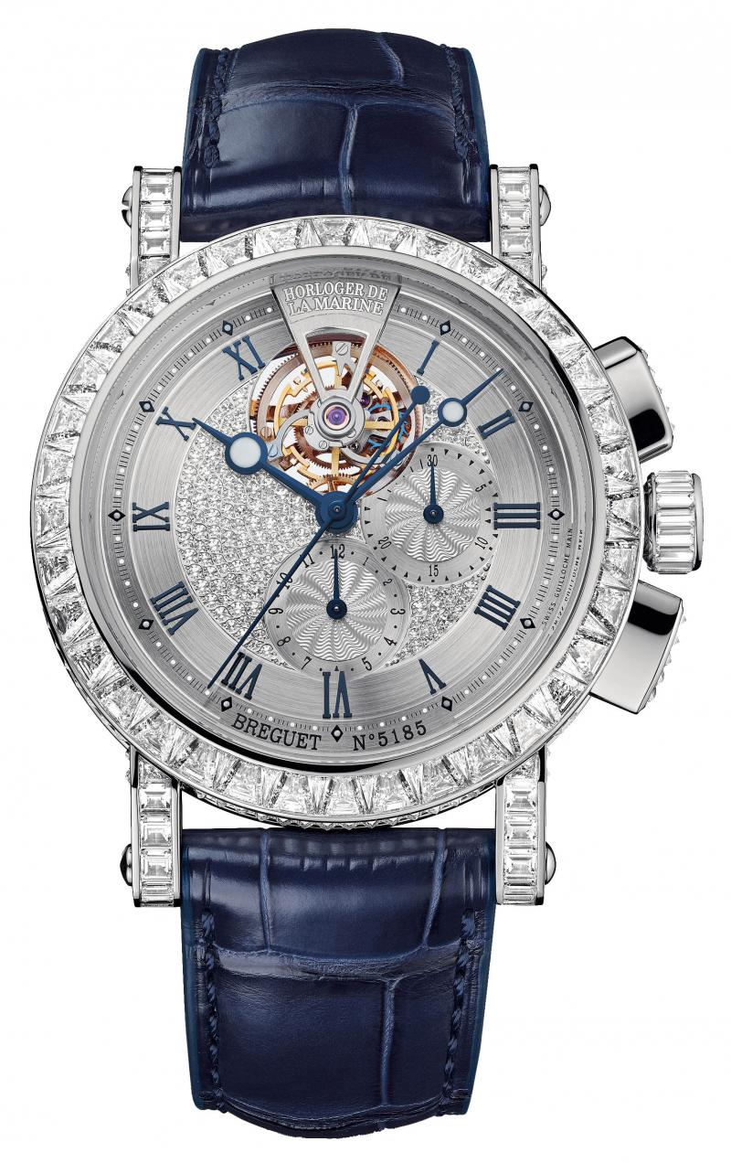 5839BB/6D/9ZU DD0D Breguet 5839 Marine Tourbillon High Jewellery Marine
