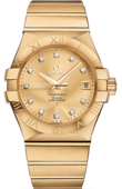 Omega Constellation 123.50.35.20.58-001 Co-axial