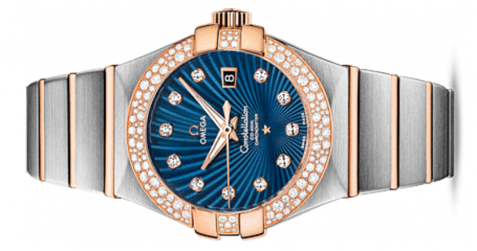 Omega 123.25.31.20.53-001 Constellation Ladies Co-axial - фото 2