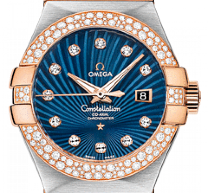 Omega 123.25.31.20.53-001 Constellation Ladies Co-axial - фото 3