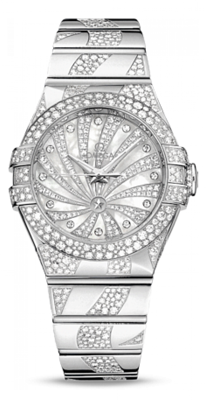 Omega 123.55.31.20.55-009 Constellation Ladies Co-axial - фото 1
