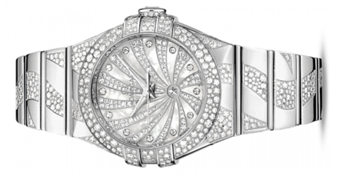 Omega 123.55.31.20.55-009 Constellation Ladies Co-axial - фото 2