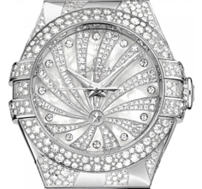 Omega 123.55.31.20.55-009 Constellation Ladies Co-axial - фото 3