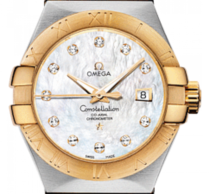 123.20.31.20.55-002 Omega Co-axial Constellation Ladies