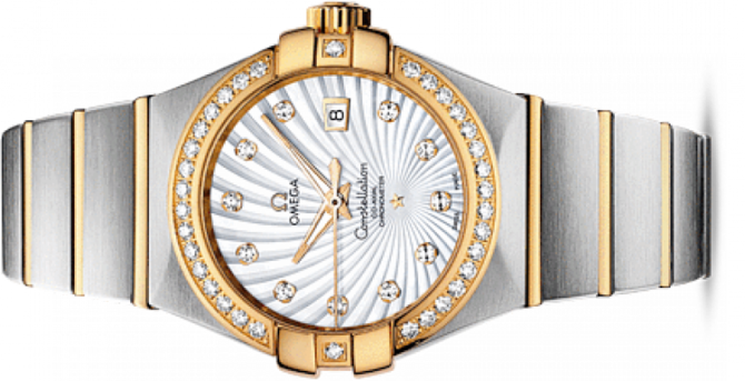 Omega 123.25.31.20.55-002 Constellation Ladies Co-axial - фото 2