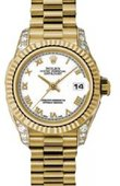 Rolex Datejust Ladies 179238 wrp 26mm Yellow Gold