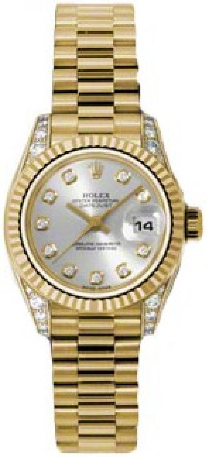 179238 sdp Rolex 26mm Yellow Gold Datejust Ladies