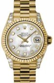 Rolex Datejust Ladies 179238 mdp 26mm Yellow Gold