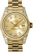 Rolex Datejust Ladies 179238 chdp 26mm Yellow Gold