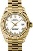 Rolex Datejust Ladies 179178 wrp 26mm Yellow Gold