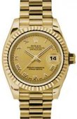 Rolex Datejust Ladies 179178 chrp 26mm Yellow Gold