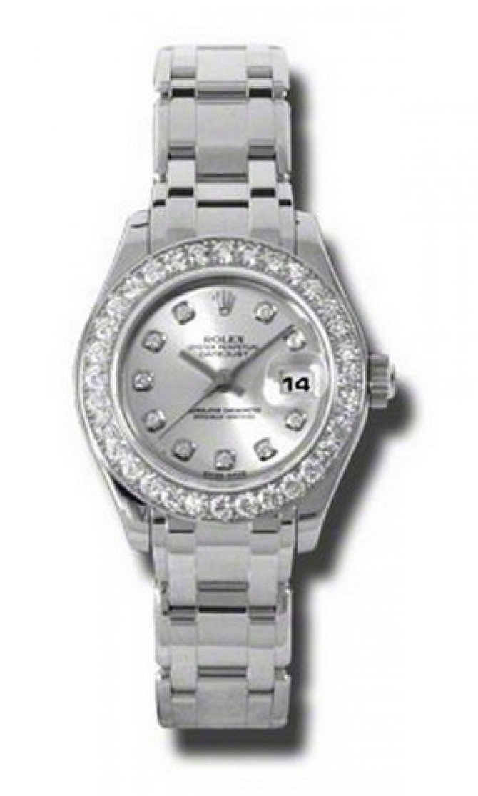 Rolex 80299 sd Datejust Ladies Pearlmaster White Gold - фото 1