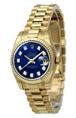 Rolex Datejust Ladies 179178 bldp 26mm Yellow Gold