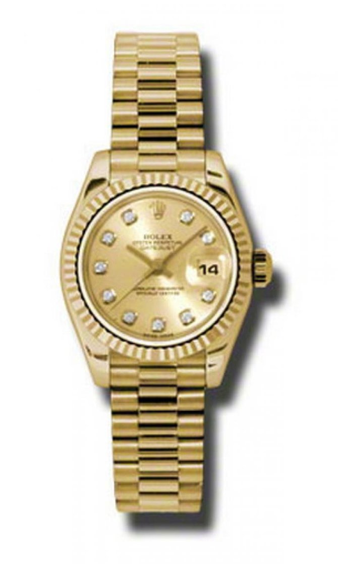 Rolex 179178 chdp Datejust Ladies Yellow Gold